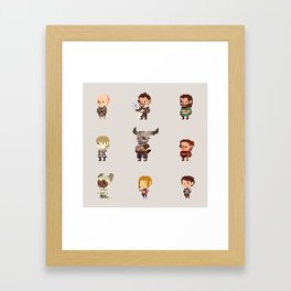 Dragon Age Inquisition: Companions Framed Art Print