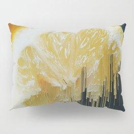 Lemony Good Glitch Pillow Sham