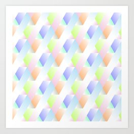 Irregular Forms Art Print