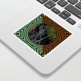 Nature Portals Pattern Sticker