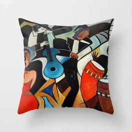 Copa Cabana Throw Pillow