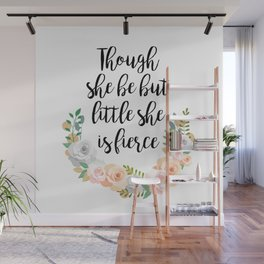 Fierce Little Thing Wall Mural