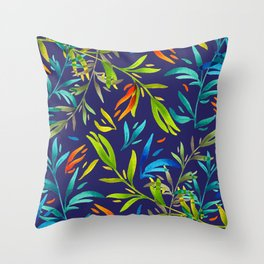 Tropical Colors #3 Throw Pillow