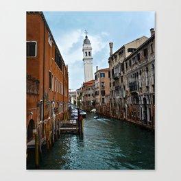 Leaning Venice Canvas Print