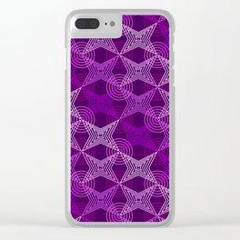 Op Art 126 Clear iPhone Case