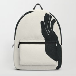 Abstract Hands Backpack