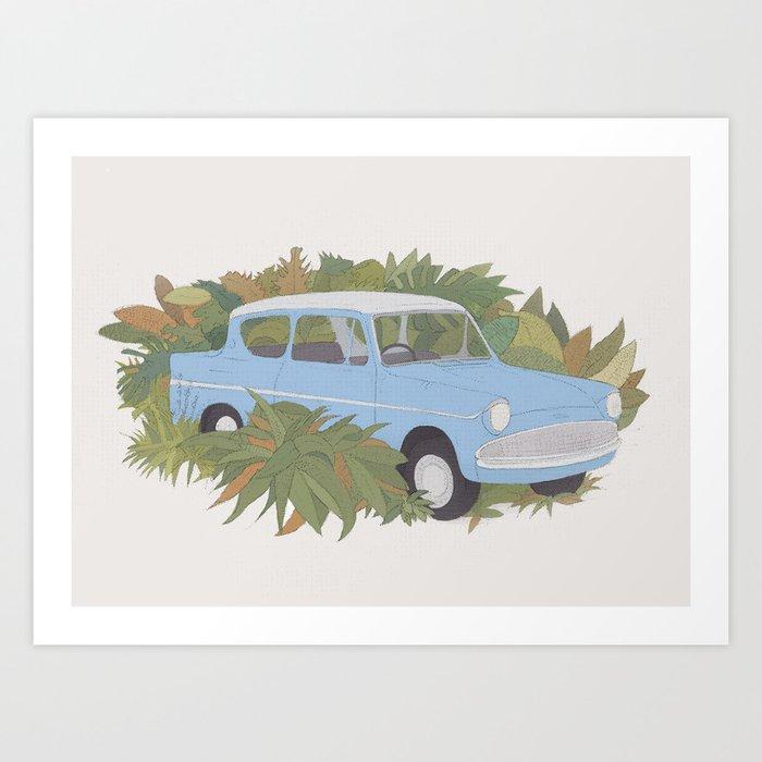 Anglia Art Print