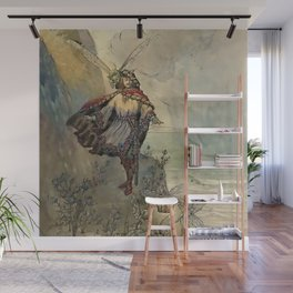 """""""King of the Fairies"""" by A Duncan Carse Wall Mural"""
