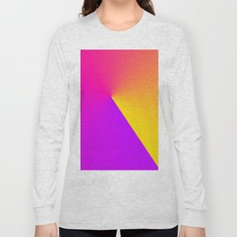 Abstract Summer Impression Long Sleeve T-shirt