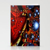 guardians Stationery Cards featuring Guardians by Robin Curtiss