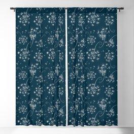 Fluffy dandelions Blackout Curtain