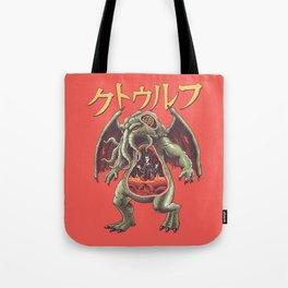 Kaiju Cosmic Monster Tote Bag