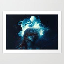 Dreams In Lovecraft Art Print