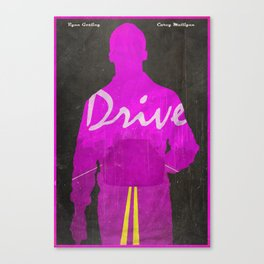 The Nightcall - Drive Poster Canvas Print