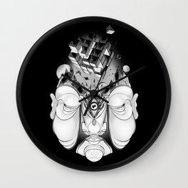 INTERIOR_BLACK Wall Clock