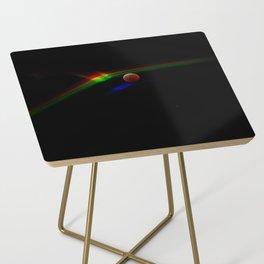 Super Moon Rainbow Side Table