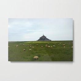 Le Mont Saint Michel 2 Metal Print