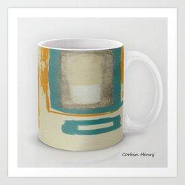 Soft And Bold Rothko Inspired Modern Art Coffee Mug Large Art Print