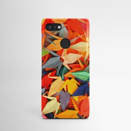 Senbazuru rainbow Android Case