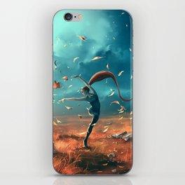 SAGITTARIUS form the Dancing Zodiac iPhone Skin