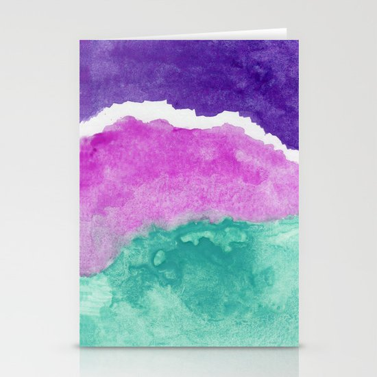 Mermaid Water Stationery Cards