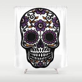 Sugar Skull 5 Shower Curtain