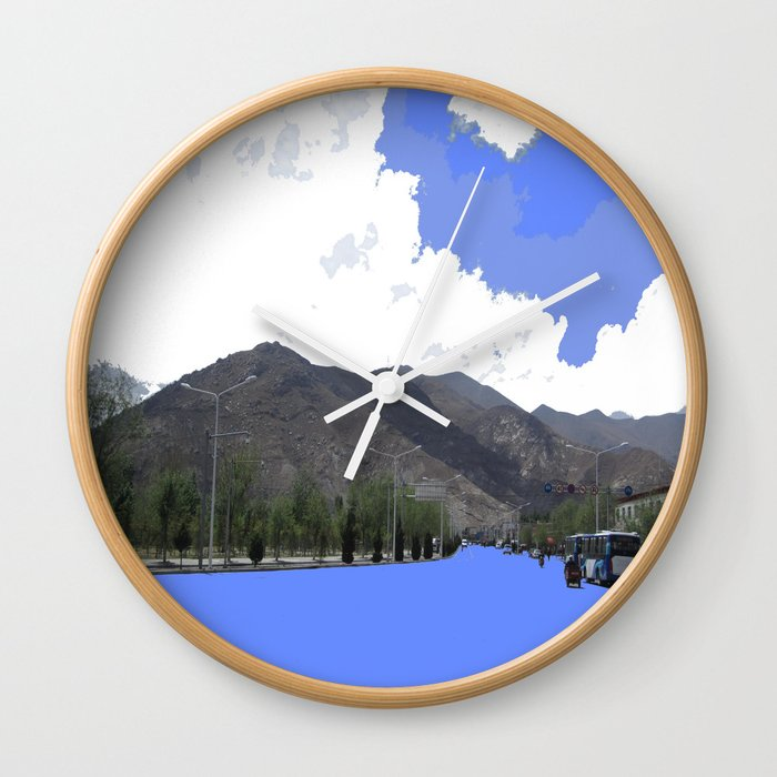 Lots Of Fresh Air Wall Clock