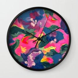 Ophelia (Flower Variation 1) Wall Clock