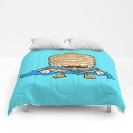 Captain Pancake's Mustache Comforters