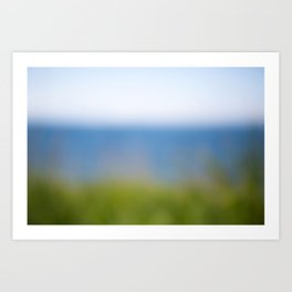 Land. Sea. Air. Art Print