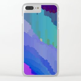 Abstact waterfall Clear iPhone Case