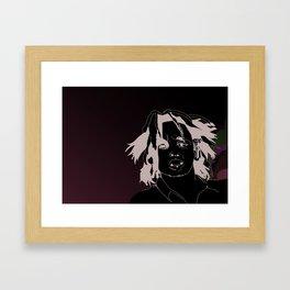 Portrait illustration Framed Art Print