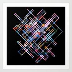 Four thousand irregular verbs Art Print