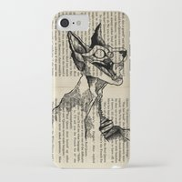 evil queen iPhone & iPod Cases featuring evil queen with texture by vasodelirium