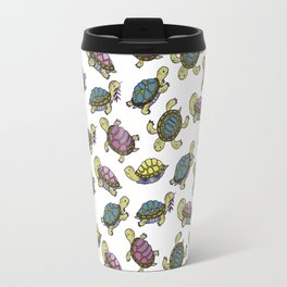 Turtles on the lake Travel Mug