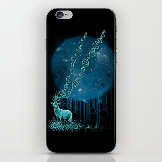 DNA Deer iPhone & iPod Skin