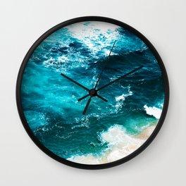 Sea Foam #society6 #decor #buyart Wall Clock