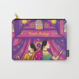 Indian Wedding Sangeet Dance Carry-All Pouch
