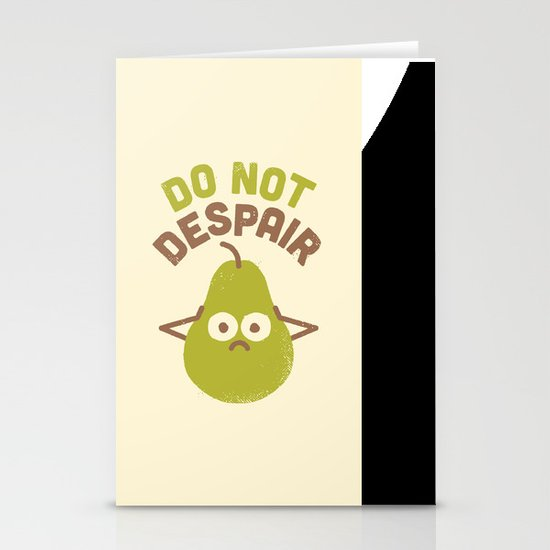A Fruitful Admonition Stationery Cards