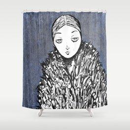 Peace Line No 23 Shower Curtain
