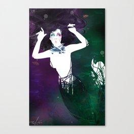 Haute Couture Mermaid Canvas Print