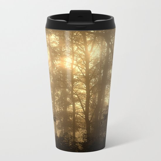 Misty Morning Metal Travel Mug