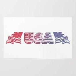 USA Banner Rug