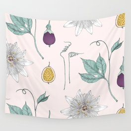 Passionfruit Wall Tapestry