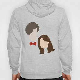 The Eleventh Doctor and the lovely Clara Oswin Oswald Hoody