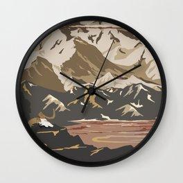 National Parks 2050: Denali Wall Clock
