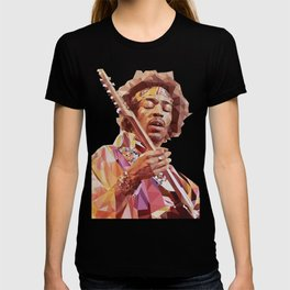 Jimi Hendrix Guitar God T-shirt