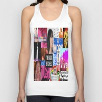 birthday Tank Tops featuring birthday by Aldo Couture