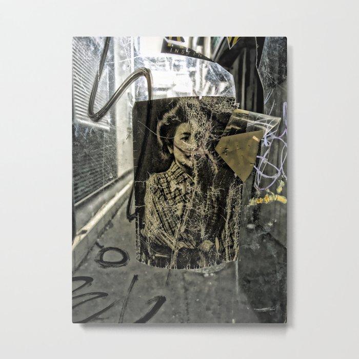 Shinsekei Street Photo #2, Osaka, Japan Metal Print