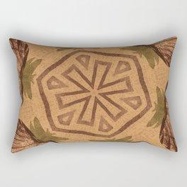 Fat Pineapple and Star Rectangular Pillow